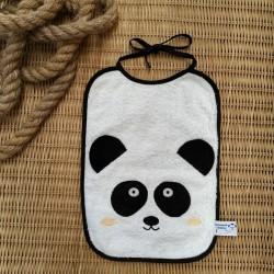 Bavoir à nouer panda
